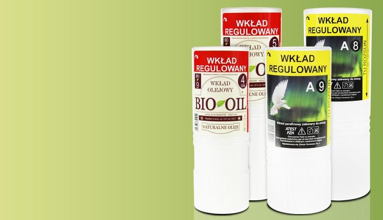 Wkłady regulowane BIO-OIL