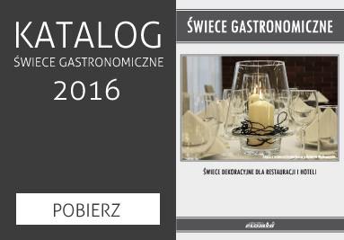 Katalog świec gastronomicznych 2016