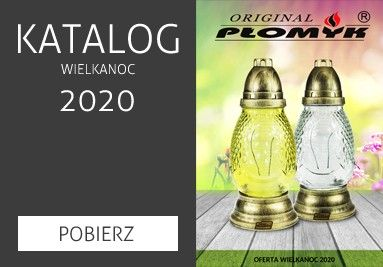Katalog zniczy na Wielkanoc 2020